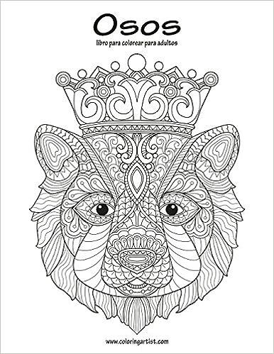 Amazon.com: Osos libro para colorear para adultos 1 (Volume 1 ...