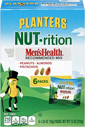Planters Mixed Nuts, Men's Health Mix, 7.5 Ounce (Pack of (Health Nut)