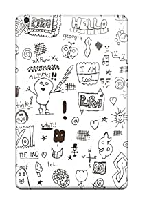 Tpu Fashionable Design Doodle Art Rugged Case Cover For Ipad Mini New 8886992I59877382