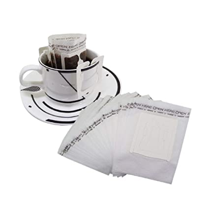 Amazoncom Huayoung Pack Of 50 Single Cup Paper Coffee Filters