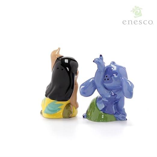 Amazon.com: Enesco 6002267 Lilo and Stitch - Salero y ...