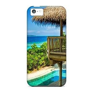 Excellent Design Jungle Reserve At Soneva Fushi Maldives Case Cover For Iphone 5c