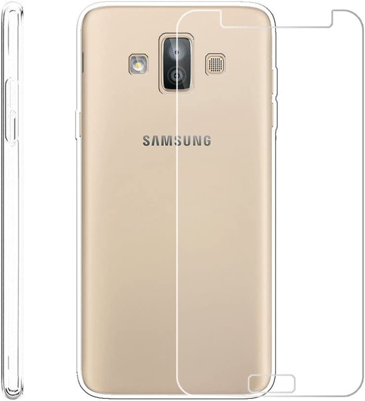 LJSM para Samsung Galaxy J7 Duo 2018 Funda Transparente + ...