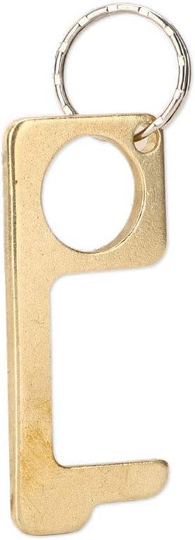 manija de elevador sin contacto herramienta de apertura de puerta sin contacto Abrepuertas de lat/ón sin contacto 4 piezas