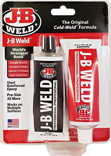 J-B Weld 8281 Professional Size Steel Reinforced Epoxy Twin Pack-10