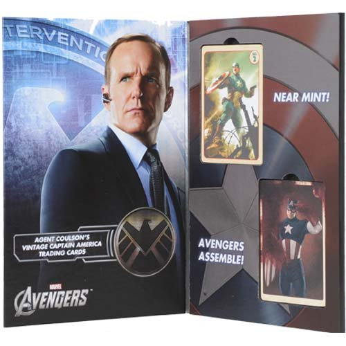 EFX The Avengers Movie: Agent Coulson's Captain America Trading Cards Set