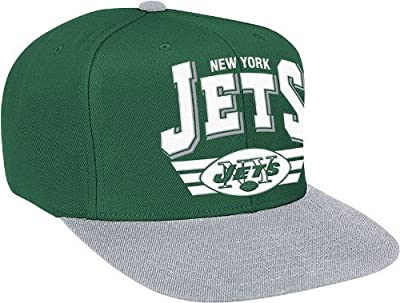 New York Jets The Stadium Arch Vintage Green/Grey Adjustable Snapback Cap / Hat from Mitchell & Ness