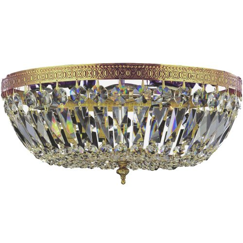 Crystorama 716-OB-CL-S Crystal Three Light Ceiling Mounts from Richmond collection in ()