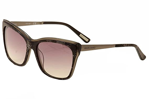 a5e4e90c2ac7df Lunettes de soleil Guess By Marciano GM0739 C57 05C (black other   smoke  mirror