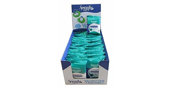 Speedycare Toallitas de bolsillo desinfectante de mano - 24 paquetes: Amazon.es: Salud y cuidado personal