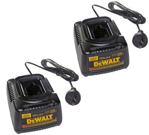 Dewalt DE9116 - 240V 7.2-18v 1 Hour Charger (2 Pack) # 604333-03-2pk by BLACK+DECKER