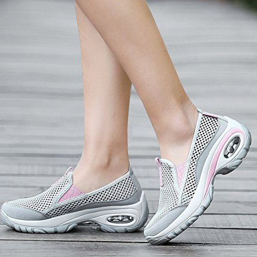 Sneakers Gym Running Basses Roseunion Course Femme Fitness Gris Chaussure Baskets Sport De wFTqYzC
