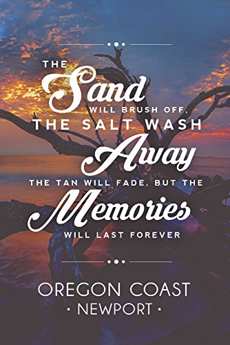 Newport, Oregon Coast - Driftwood - Beach Sentiment