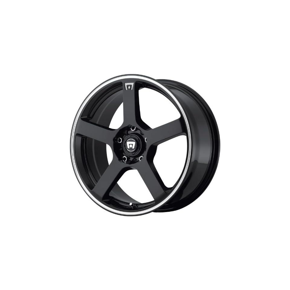 Motegi MR116 15 Black Wheel / Rim 4x100 & 4x4.25 with a 40mm Offset and a 72.6 Hub Bore. Partnumber MR11656508340 Automotive