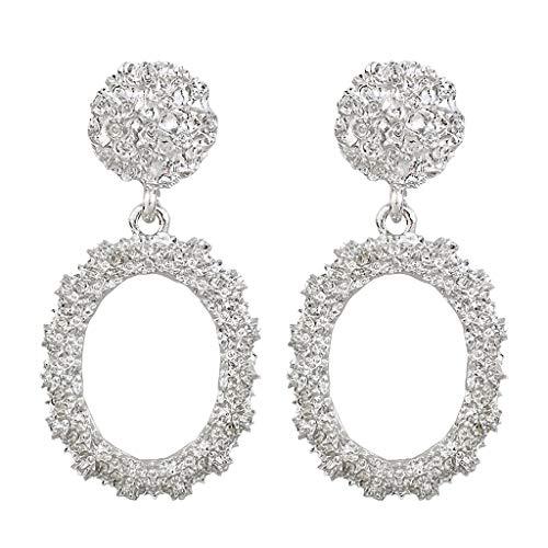 Ximandi Elegant Charm Bohomian Statement Geometric Rectangle Drop Dangle Stud Earrings Womens Girls Fashion Earrings