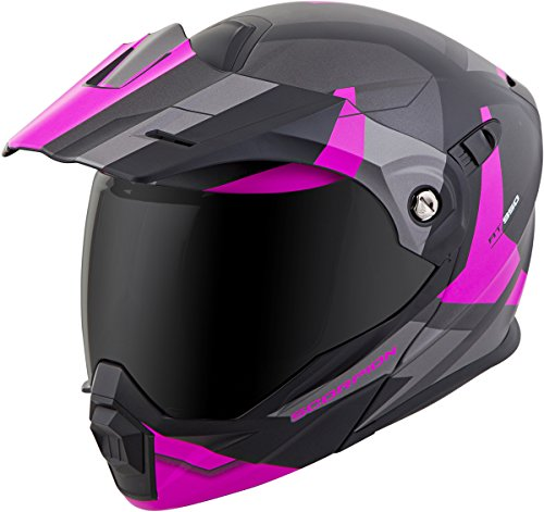 Scorpion EXO-AT950 Modular Neocon Street Bike Motorcycle Helmet - Pink/Small