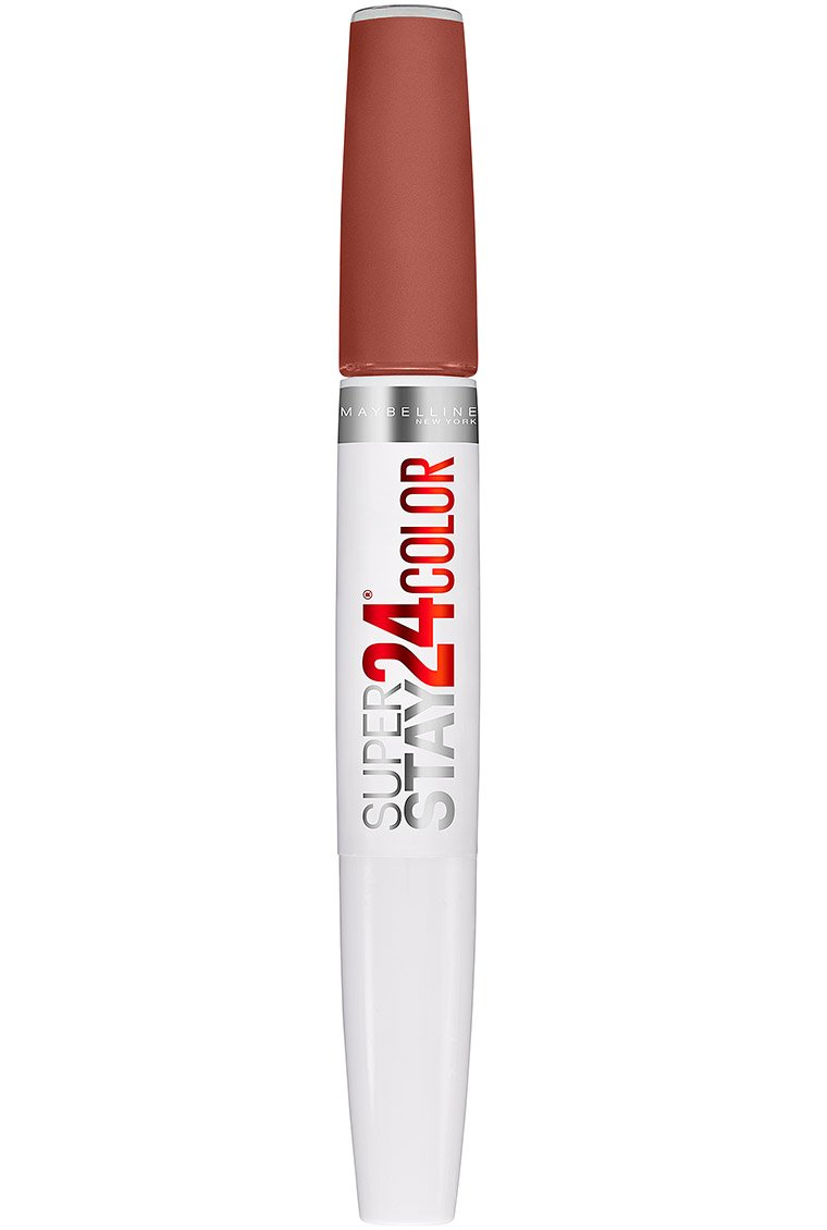 Maybelline SuperStay 24 2-Step Liquid Lipstick Makeup, Endless Espresso, 1 kit