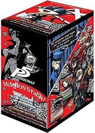 Schwarz Booster (Weiss Schwarz TCG Card Game PERSONA 5 English Booster Box - 20 packs)