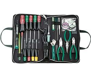 Kit básico de herramientas para electrónica - Calidad garantizada.