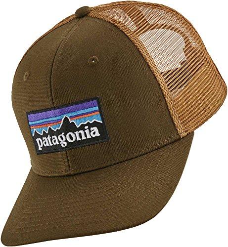 Patagonia 38017WFABALL Gorra, Blanco/Rojo (Fire) / Azul (Andes), Única marrón (sediment)
