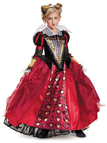 Red Queen Movie Costume (Red Queen Deluxe Child Costume - Small)