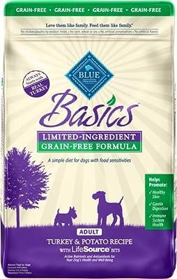 Blue Buffalo Basics Limited-Ingredient Dry Adult Dog Food
