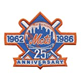 New York Mets 25th Anniversary 1962-1986 MLB Baseball Collectible Patch