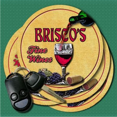 briscos-fine-wines-coasters-set-of-4