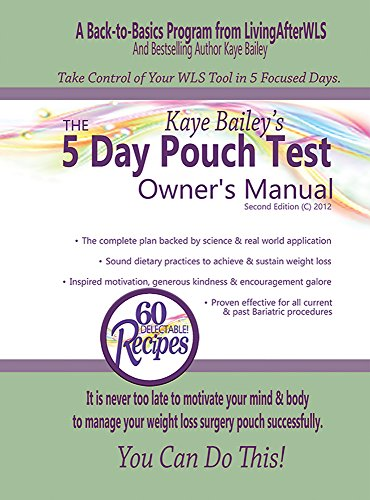 The 5 Day Pouch Test Owner S Manual Kindle Edition By Kaye Bailey