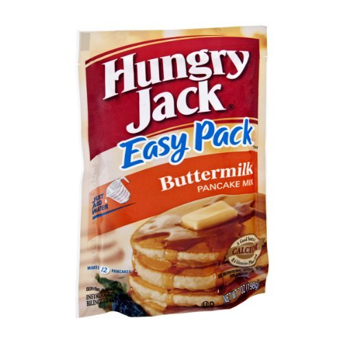 (Hungry Jack Easy Pack Buttermilk Pancake Mix 7 Oz Packet (Pack of 4))
