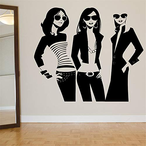 Poinly Quotes Wall Sticker Mural Decal Art Home Decor Beatuy Shopping Girl Trending Beauty Salon Decal Livingroom Bedroom for Beauty Salon Barbershop