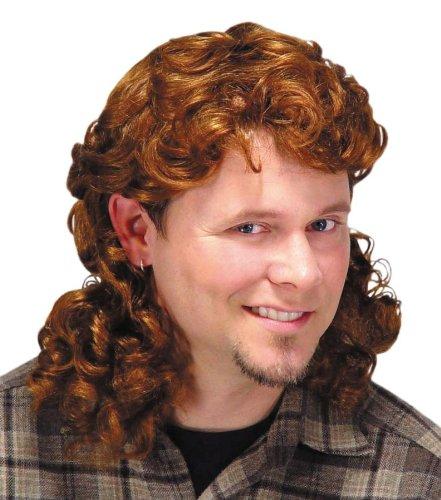 Mullet Wig Auburn -