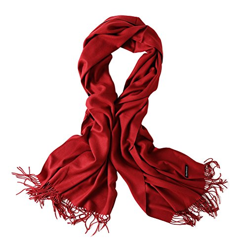 Bellonesc Luxurious Cashmere Scarf Shawls for Women and Men]()