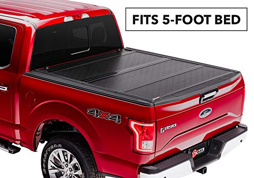 BAKFlip G2 Hard Folding Truck Bed Tonneau Cover | 226332 | fits 2019 Ford Ranger, 5' Bed