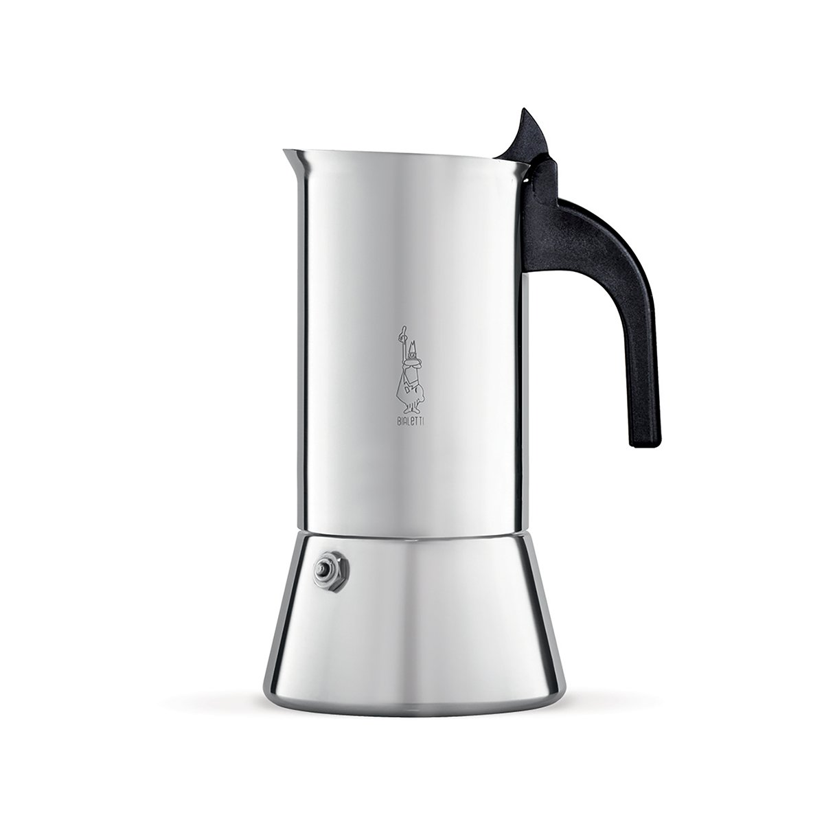 Bialetti 10 Cup Venus Stainless Steel Stovetop Espresso Coffee Maker Induction by Bialetti