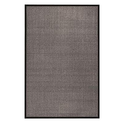 Safavieh Natural Fiber Collection NF441A Handmade Maize and Black Sisal Area Runner