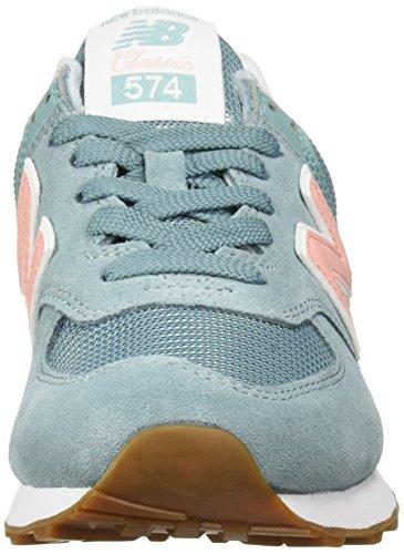 574 Blue low top Smoke dames New voor Balance sneakers U5qnEx8g