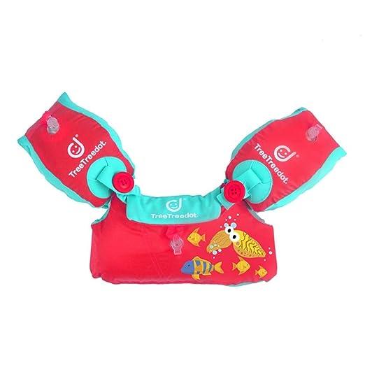 Nwlgl - Chaleco Hinchable de Seguridad de flotabilidad para niños ...
