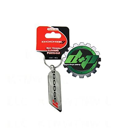 Amazon.com: Diesel Power Plus Dodge Elite Key Chain red ...