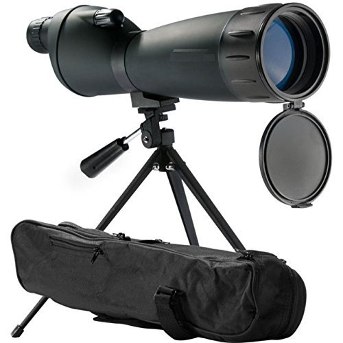 Scope 75mm Spotting - Gotical 25-75x75 Mm Spotting Scope Spotter Bench Shooting Hunting Sighting in Spotting Scope