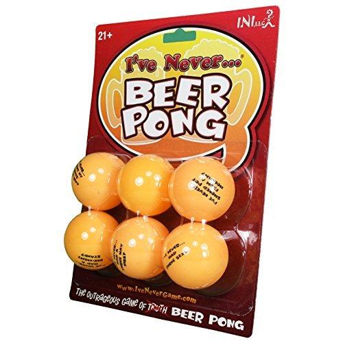 I've Never Beer Pong Balls - Sink Drink and Confess