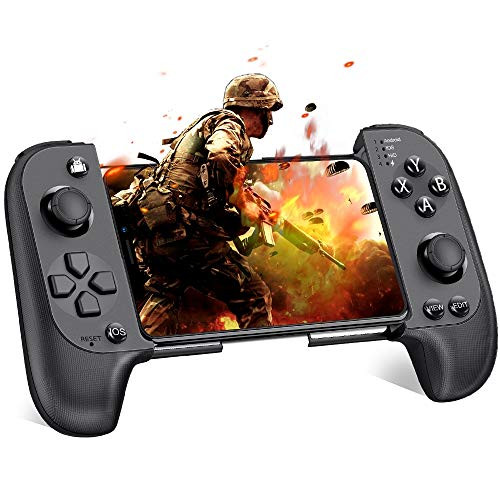 Mobile Controller, BEBONCOOl Mobile Game Controller for PUBG, Android Game Controller for Android/iOS/iPhone, Wireless Remote Controller Gamepad, Mobile Gaming Controller Supports Mobile Key Mapping