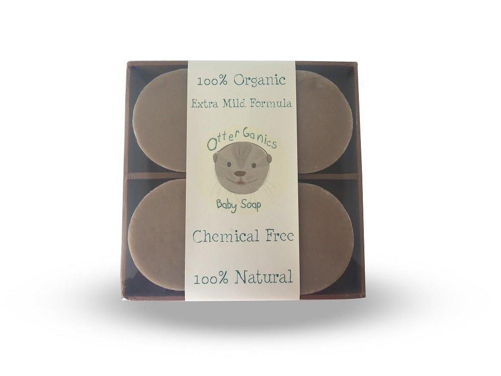 Otterganics Organic Baby Soap Bar and Shampoo (4) by Otterganics
