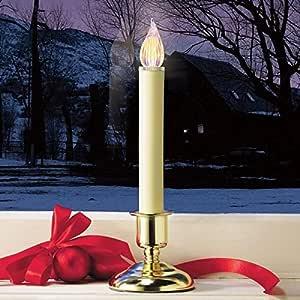Amazon.com: Brookstone Cordless LED Christmas Window ...