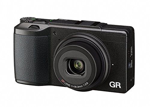Ricoh GR II Digital Camera with 3-Inch LCD (Black) from Ricoh