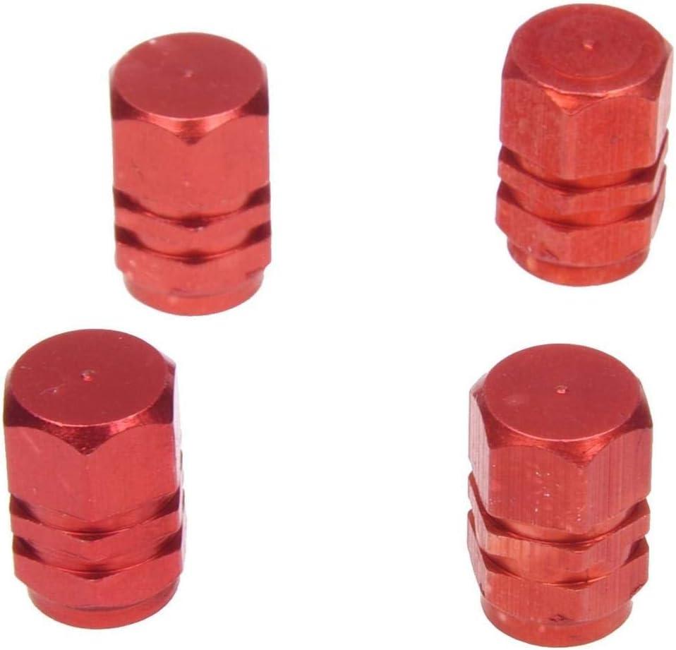 Clarashop - 4 Tapones de válvula de Aluminio para neumáticos de ...