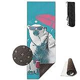 Polar Bear Like Summer1.jpg,Yoga Towel Exercise Mat Non-Slip High Density Waterproof Yoga Mats Fitness