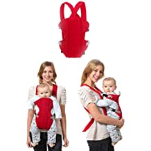 Sealive Breathable 4-in-1 Convertible Carrier - 360 All Carry Positions Soft Mesh Ergonomic Baby Carrier, Comfort Backpack Child Carrier Perfect for Baby Shower Gift , Suitable for All Seasons