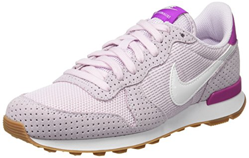 Corsa Gum Nike White Internationalist da Wmns Lilac Mid Summit Scarpe Donna Brown Bianco Bleached IqgZqw