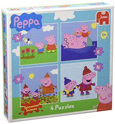 (Peppa Pig - 4 Puzzle In A Box)